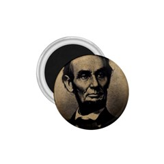 Vintage Civil War Era Lincoln 1 75  Button Magnet by bloomingvinedesign