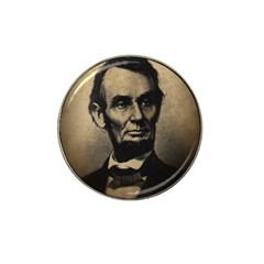 Vintage Civil War Era Lincoln Golf Ball Marker (for Hat Clip)