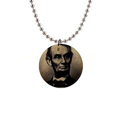 Vintage Civil War Era Lincoln Button Necklace by bloomingvinedesign