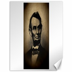 Vintage Civil War Era Lincoln Canvas 36  X 48  (unframed) by bloomingvinedesign
