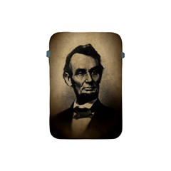 Vintage Civil War Era Lincoln Apple Ipad Mini Protective Sleeve by bloomingvinedesign