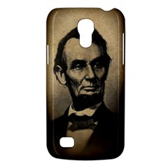 Vintage Civil War Era Lincoln Samsung Galaxy S4 Mini (gt I9190) Hardshell Case  by bloomingvinedesign