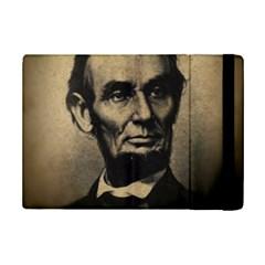 Vintage Civil War Era Lincoln Apple iPad Mini 2 Flip Case