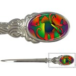 Rainbow Purple Cats Letter Opener