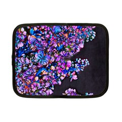 Abstract Lilacs Netbook Sleeve (small) by bloomingvinedesign