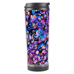 Abstract Lilacs Travel Tumbler by bloomingvinedesign