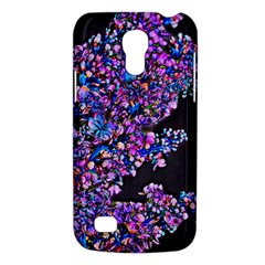 Abstract Lilacs Samsung Galaxy S4 Mini (gt I9190) Hardshell Case  by bloomingvinedesign