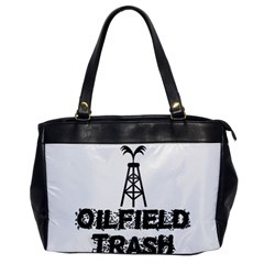 Oilfield Trash Oversize Office Handbag (one Side) by oilfield