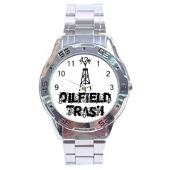 Oilfield Trash Stainless Steel Watch by oilfield