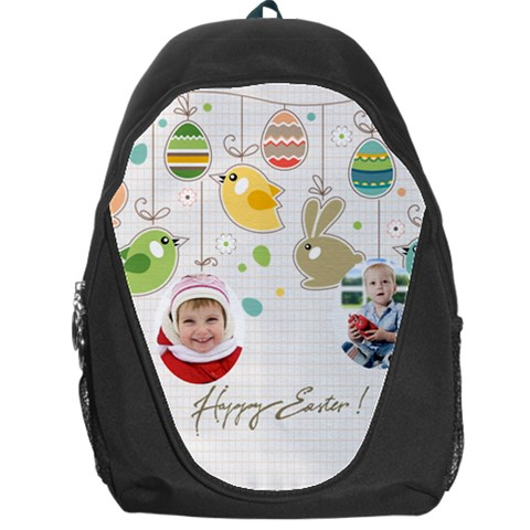 Easter By Easter   Backpack Bag   Icc3gs2gjdh8   Www Artscow Com Front