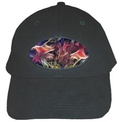 Abstract Of A Cold Sunset Black Baseball Cap