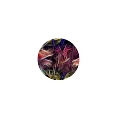 Abstract Of A Cold Sunset 1  Mini Button by bloomingvinedesign