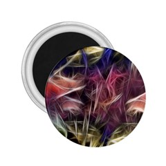 Abstract Of A Cold Sunset 2 25  Button Magnet by bloomingvinedesign