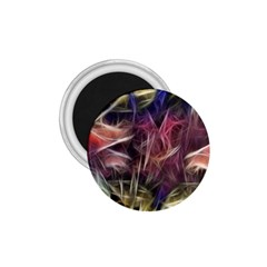 Abstract Of A Cold Sunset 1 75  Button Magnet by bloomingvinedesign