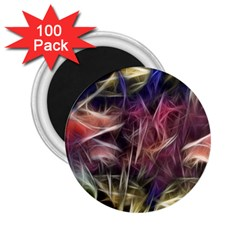 Abstract Of A Cold Sunset 2 25  Button Magnet (100 Pack)