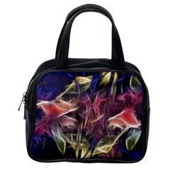 Abstract Of A Cold Sunset Classic Handbag (one Side)
