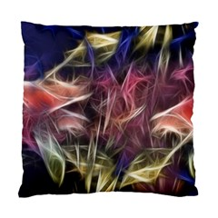 Abstract Of A Cold Sunset Cushion Case (single Sided)  by bloomingvinedesign