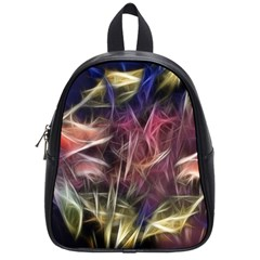 Abstract Of A Cold Sunset School Bag (small)