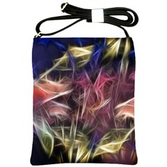 Abstract Of A Cold Sunset Shoulder Sling Bag by bloomingvinedesign