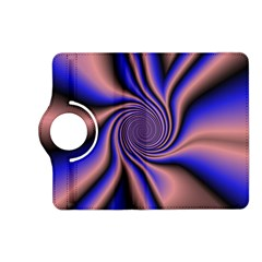 Purple Blue Swirl Kindle Fire Hd (2013) Flip 360 Case by LalyLauraFLM