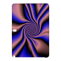 Purple Blue Swirl Samsung Galaxy Tab Pro 10 1 Hardshell Case by LalyLauraFLM
