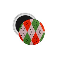 Argyle Pattern Abstract Design 1 75  Magnet by LalyLauraFLM