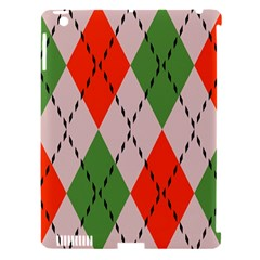 Argyle Pattern Abstract Design Apple Ipad 3/4 Hardshell Case (compatible With Smart Cover) by LalyLauraFLM