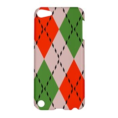 Argyle Pattern Abstract Design Apple Ipod Touch 5 Hardshell Case by LalyLauraFLM