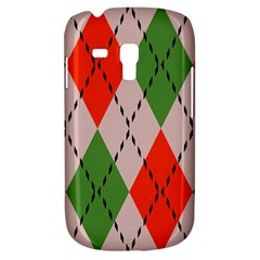 Argyle Pattern Abstract Design Samsung Galaxy S3 Mini I8190 Hardshell Case by LalyLauraFLM