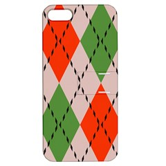 Argyle Pattern Abstract Design Apple Iphone 5 Hardshell Case With Stand by LalyLauraFLM