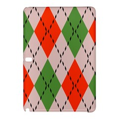Argyle Pattern Abstract Design Samsung Galaxy Tab Pro 10 1 Hardshell Case by LalyLauraFLM