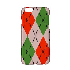 Argyle Pattern Abstract Design Apple Iphone 6 Hardshell Case by LalyLauraFLM