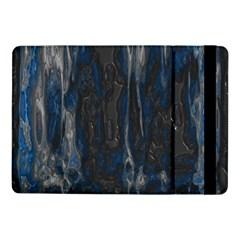 Blue Black Texture Samsung Galaxy Tab Pro 10 1  Flip Case by LalyLauraFLM