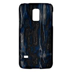 Blue Black Texture Samsung Galaxy S5 Mini Hardshell Case