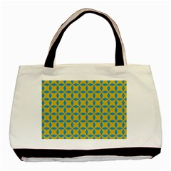 Blue Diamonds Pattern Basic Tote Bag (two Sides) by LalyLauraFLM
