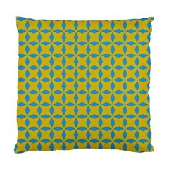 Blue Diamonds Pattern Standard Cushion Case (two Sides) by LalyLauraFLM