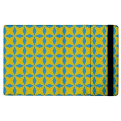 Blue Diamonds Pattern Apple Ipad 3/4 Flip Case by LalyLauraFLM
