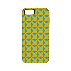 Blue Diamonds Pattern Apple Iphone 5 Classic Hardshell Case (pc+silicone) by LalyLauraFLM