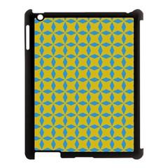 Blue Diamonds Pattern Apple Ipad 3/4 Case (black) by LalyLauraFLM
