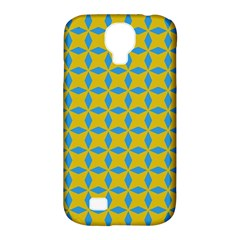 Blue Diamonds Pattern Samsung Galaxy S4 Classic Hardshell Case (pc+silicone) by LalyLauraFLM