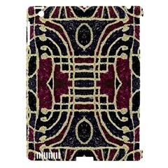 Tribal Style Ornate Grunge Pattern  Apple Ipad 3/4 Hardshell Case (compatible With Smart Cover) by dflcprints