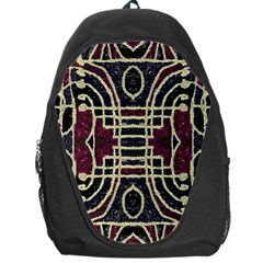 Tribal Style Ornate Grunge Pattern  Backpack Bag by dflcprints