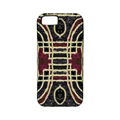Tribal Style Ornate Grunge Pattern  Apple Iphone 5 Classic Hardshell Case (pc+silicone) by dflcprints