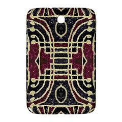 Tribal Style Ornate Grunge Pattern  Samsung Galaxy Note 8 0 N5100 Hardshell Case  by dflcprints