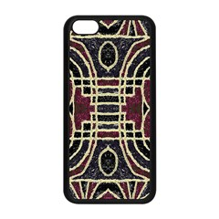 Tribal Style Ornate Grunge Pattern  Apple Iphone 5c Seamless Case (black) by dflcprints
