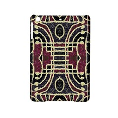 Tribal Style Ornate Grunge Pattern  Apple Ipad Mini 2 Hardshell Case by dflcprints
