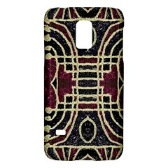 Tribal Style Ornate Grunge Pattern  Samsung Galaxy S5 Mini Hardshell Case  by dflcprints