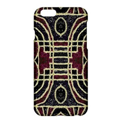Tribal Style Ornate Grunge Pattern  Apple Iphone 6 Plus Hardshell Case by dflcprints