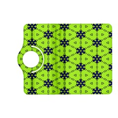 Blue Flowers Pattern Kindle Fire Hd (2013) Flip 360 Case by LalyLauraFLM
