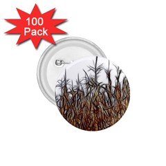 Abstract Of A Cornfield 1 75  Button (100 Pack)